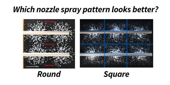 Square Pattern Design In Cooling Tower Nozzles Curtis